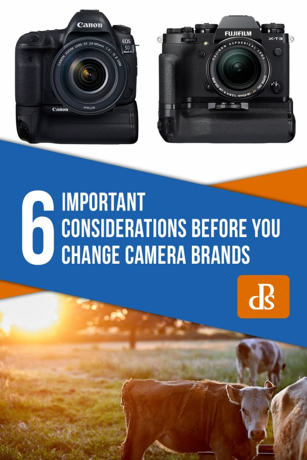 6 Important Considerations Before You Change Camera Brands