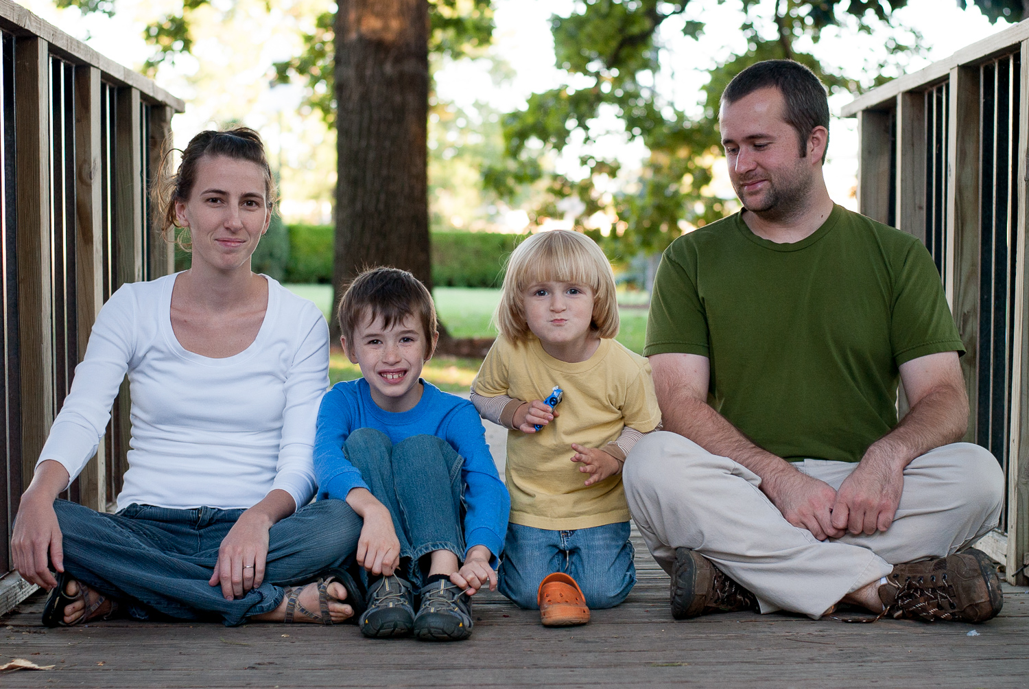 Image: Another family portrait session from 2013. Don't judge me…I was new and didn...