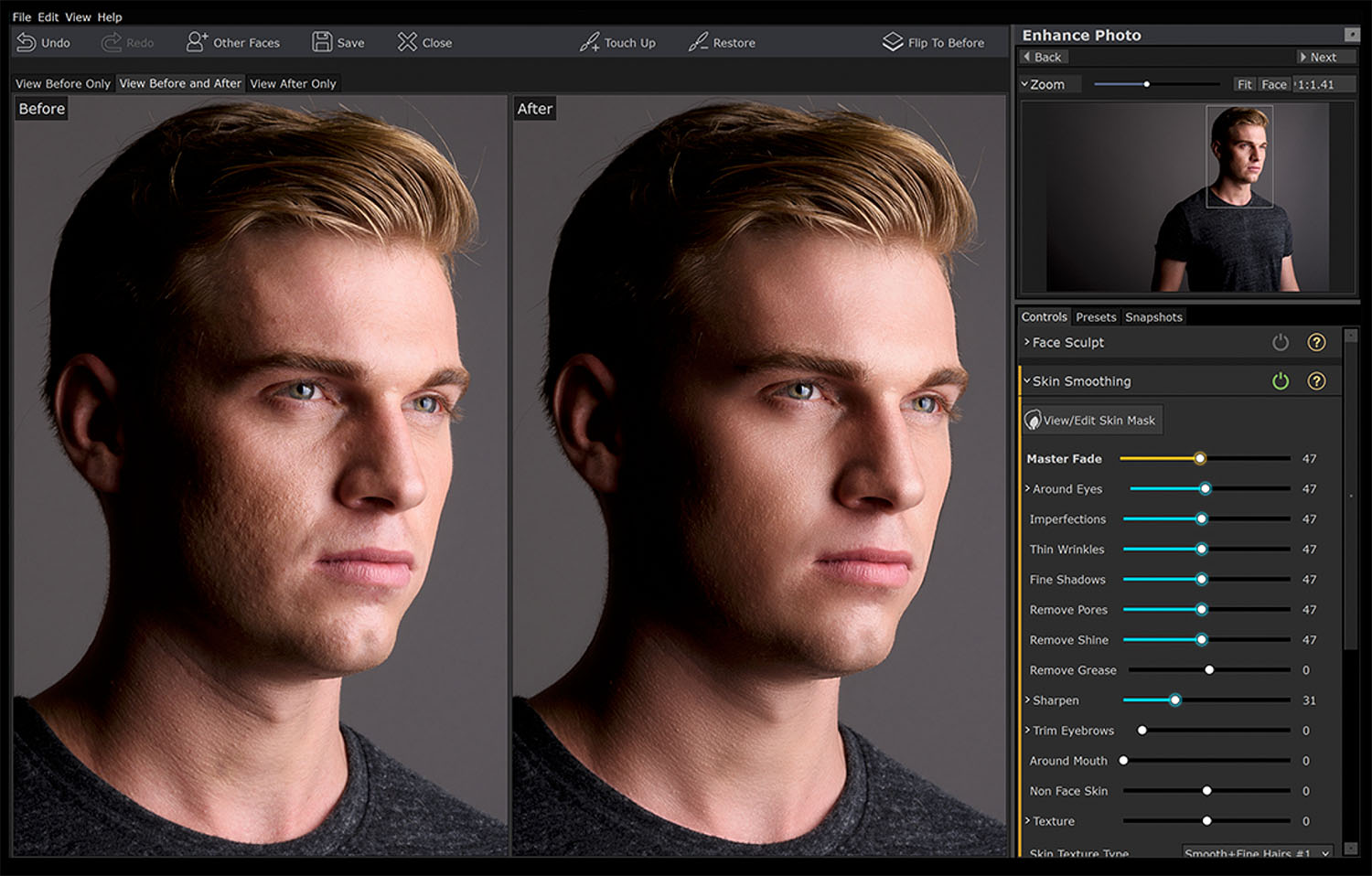 Anthropics Portrait Pro 2 post-processing software