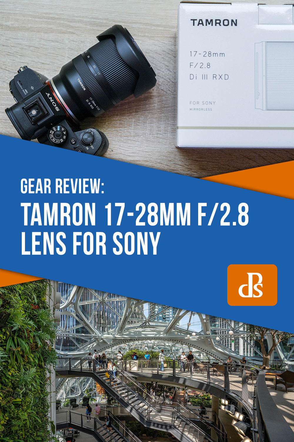 Tamron 17-28mm f/2.8 Lens for Sony