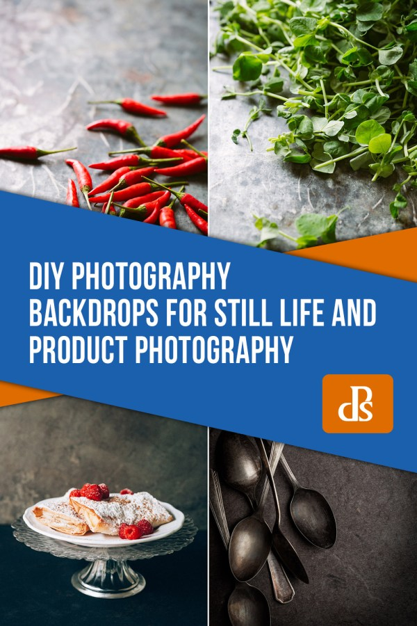 DIY Photography Backdrops for Still Life and Product Photography