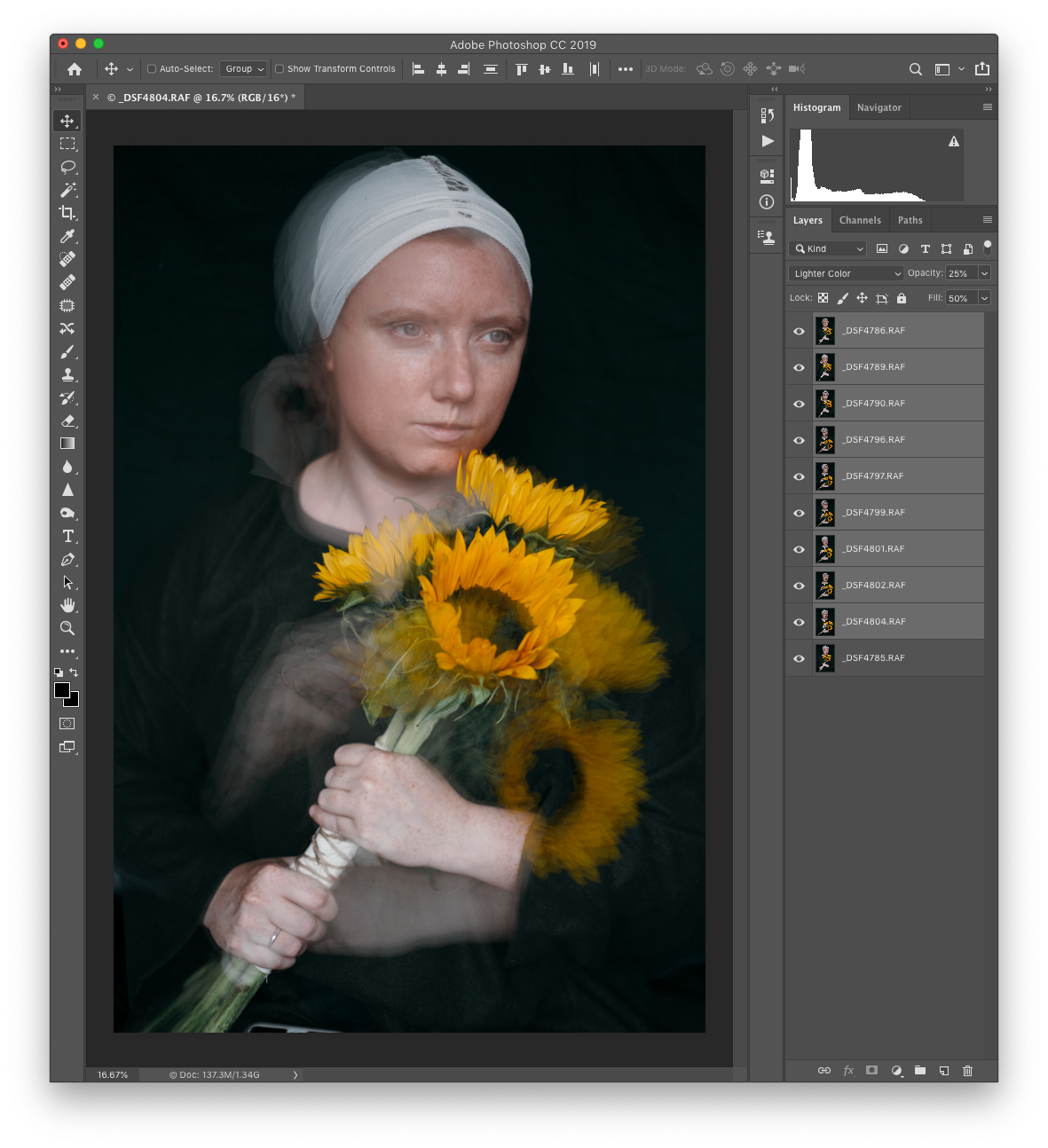 How to Use Photoshop Blending Modes for Fine Art Portraiture