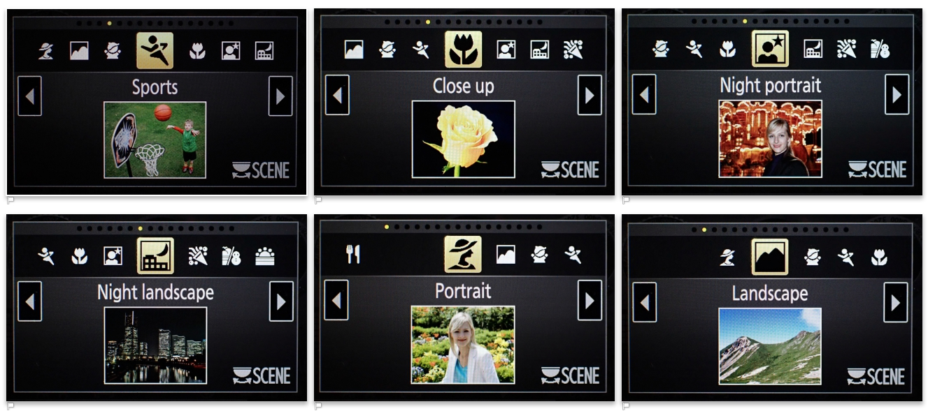 Absolute-Beginners-Guide-to-Camera-Settings-Scene modes