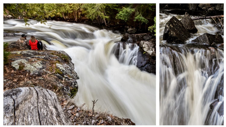 Silky waterfall shutter priority