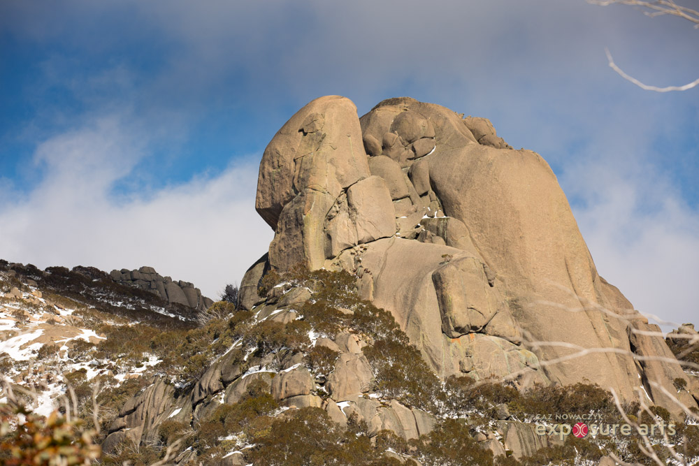 Image: The Cathedral at Mt Buffalo National Park, Victoria in Winter by Caz Nowaczyk, Focal length:...