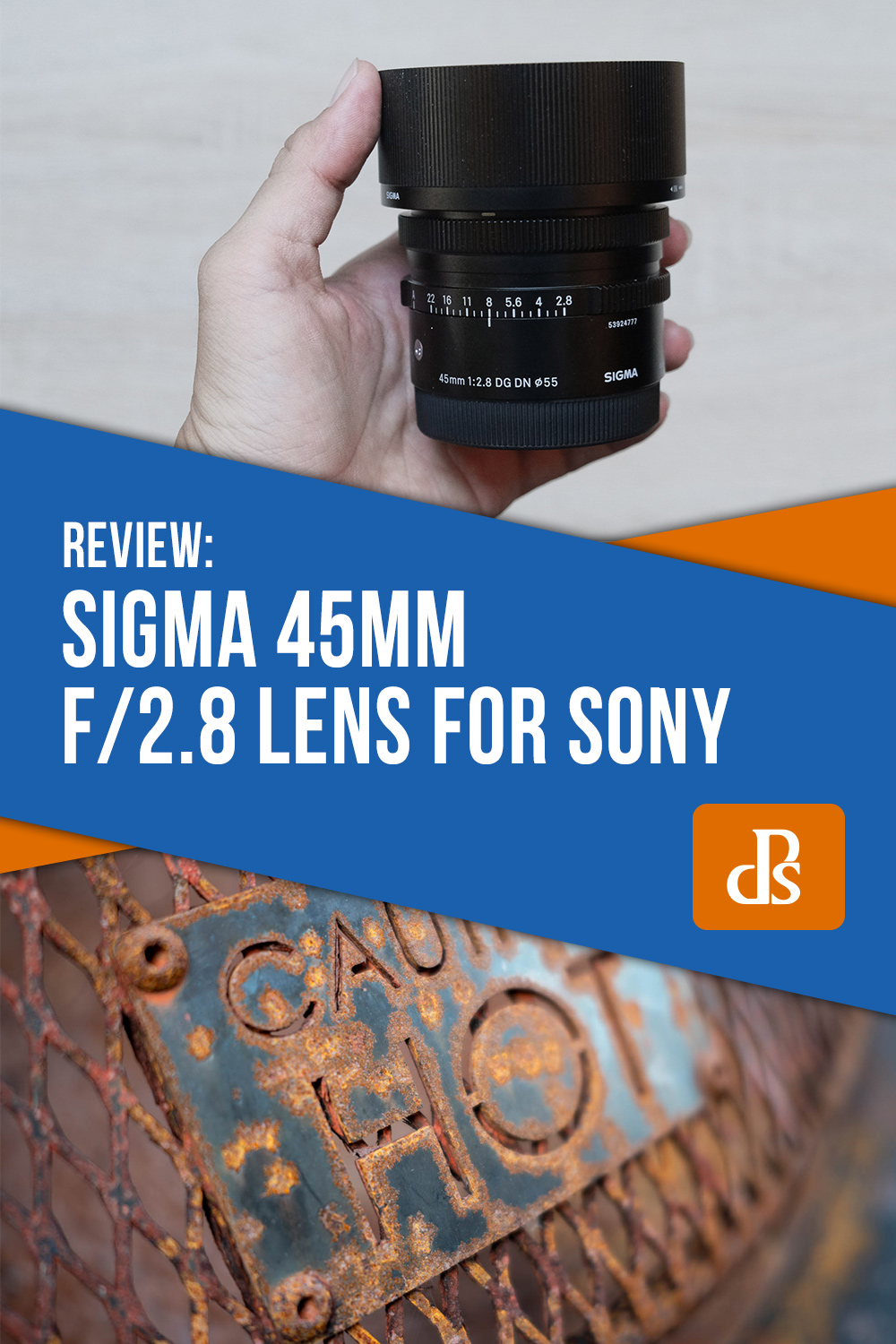 Sigma 45mm f/2.8 Lens for Sony
