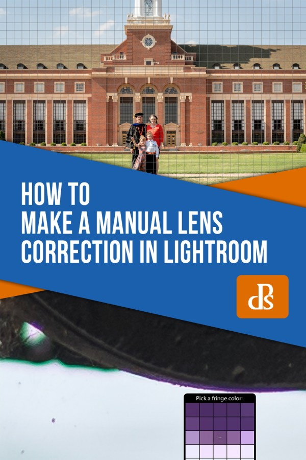How to Make a Manual Lens Correction in Lightroom
