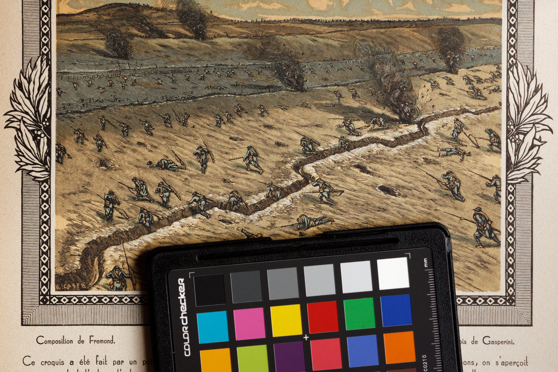 photographing artwork tips - X-Rite Color Checker - white balance correction