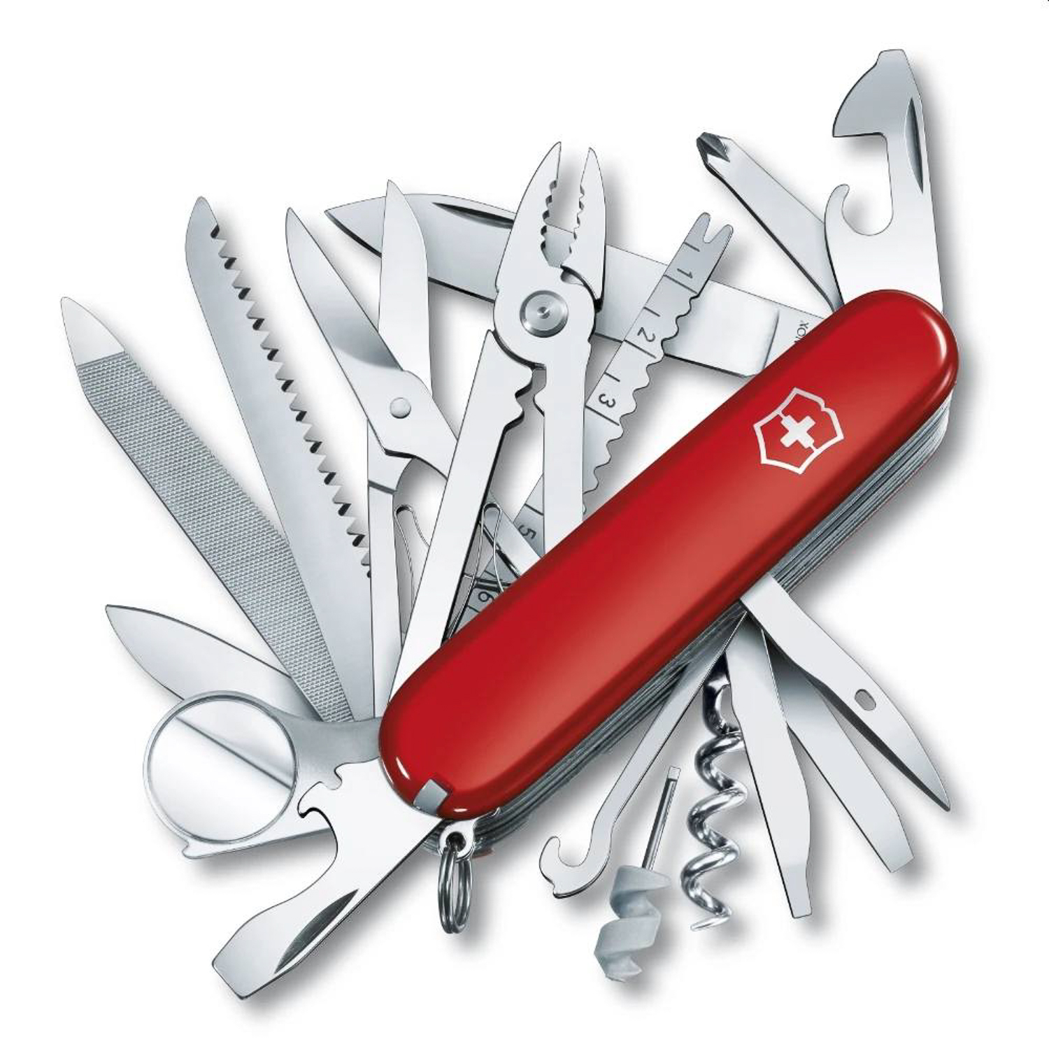 The Victorinox SwissChamp knife