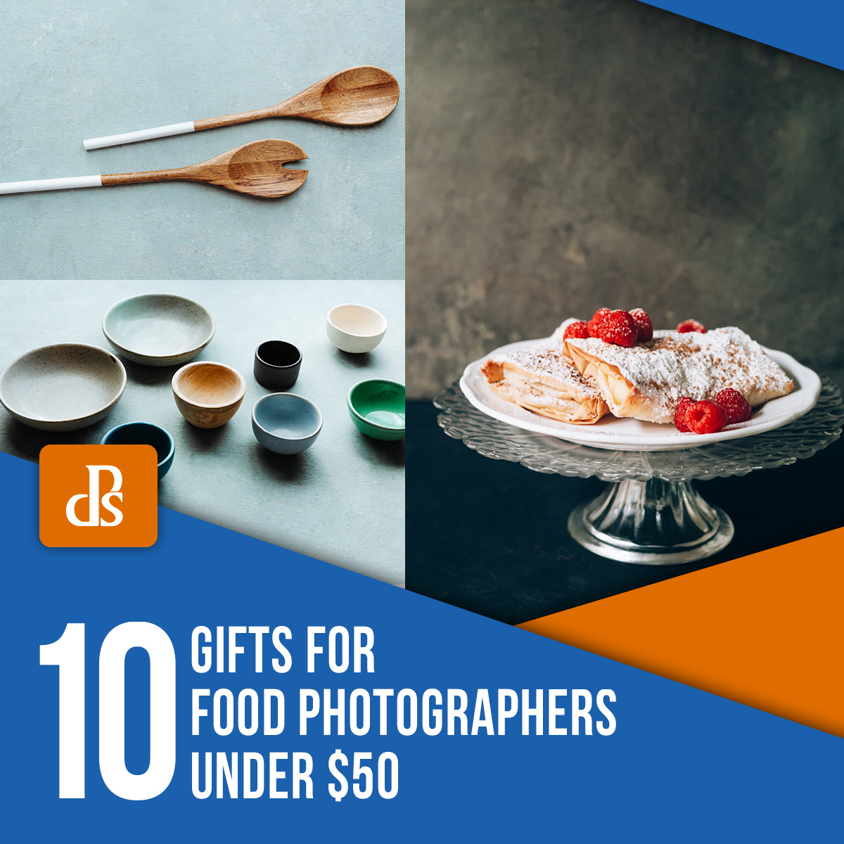 10 Great Gifts for Food Photographers Under $50