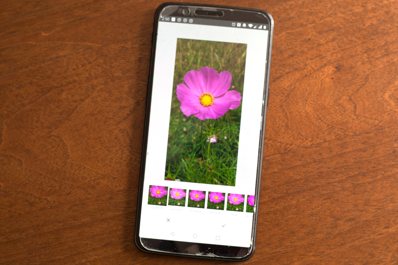 Image: My (slightly beaten up) OnePlus 5T