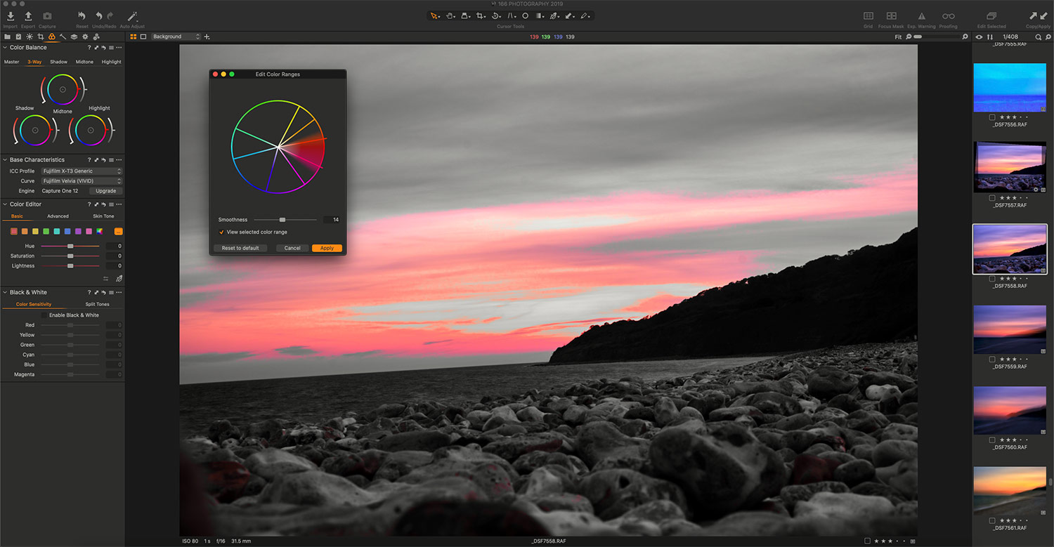 New Colour tools in Capture One 20