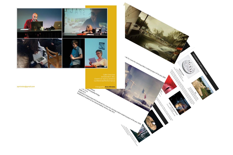 Create a Portfolio template examples