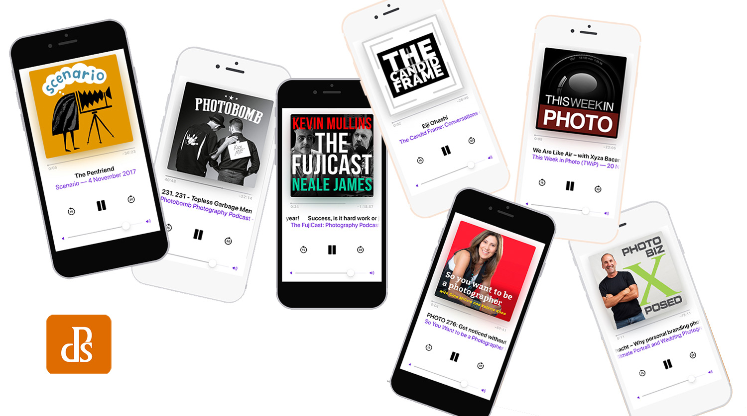 7 of the Best Photography Podcasts to Inspire!