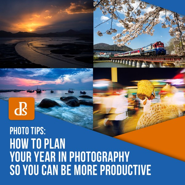 How to Plan Your Year in Photography so You Can be More Productive