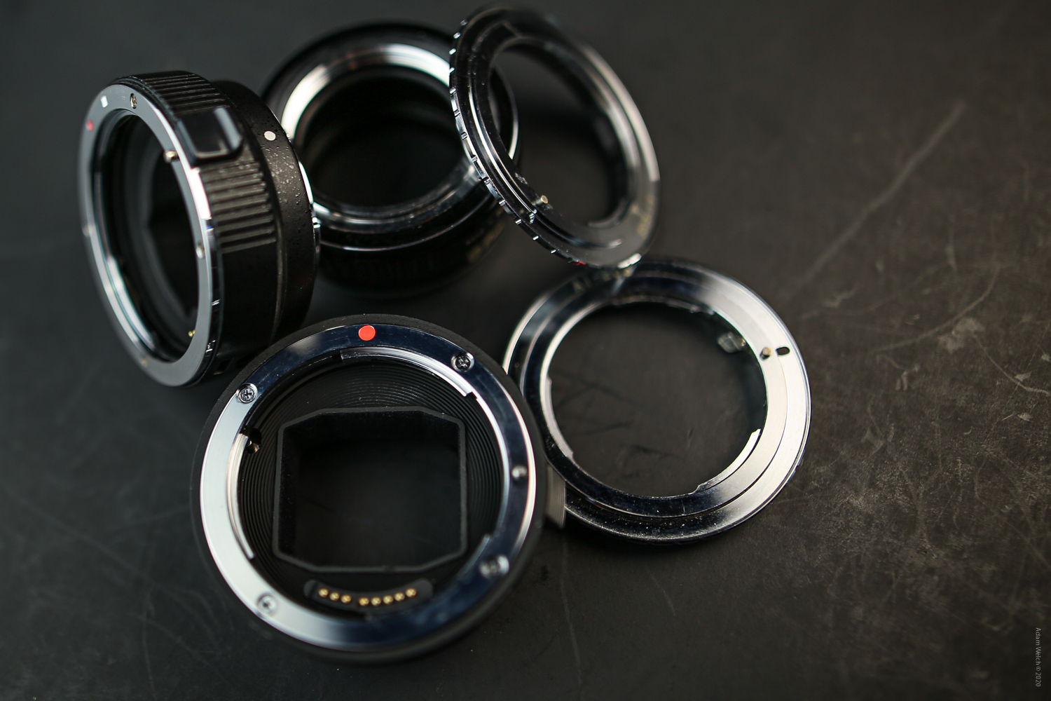Adapters for using old lenses with new digital cameras