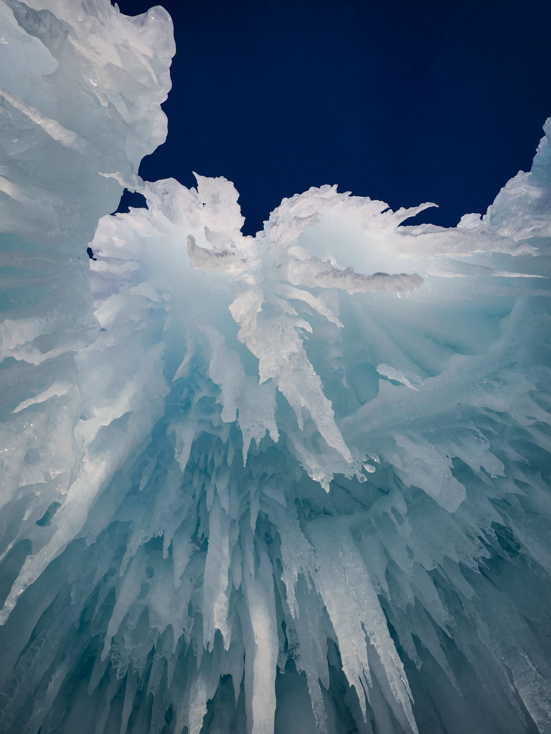 Image of icicles that will be resized for printing