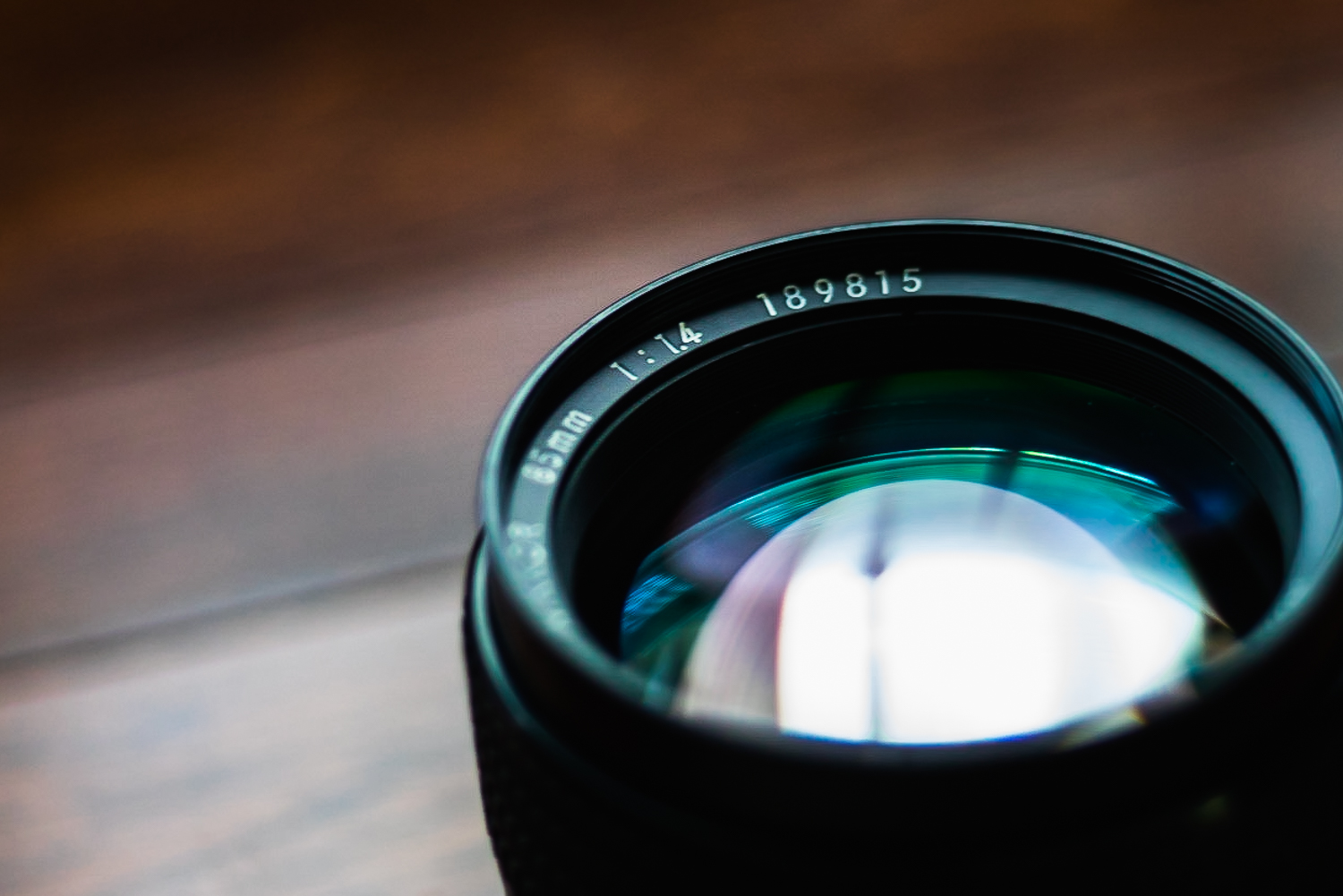 A lens with lens flaws can be viewed as an asset