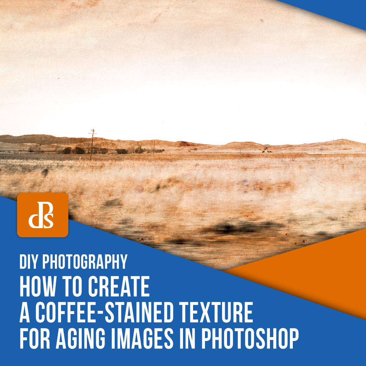 DIY: How to Create a Coffee-Stained Texture for Aging Images in Photoshop
