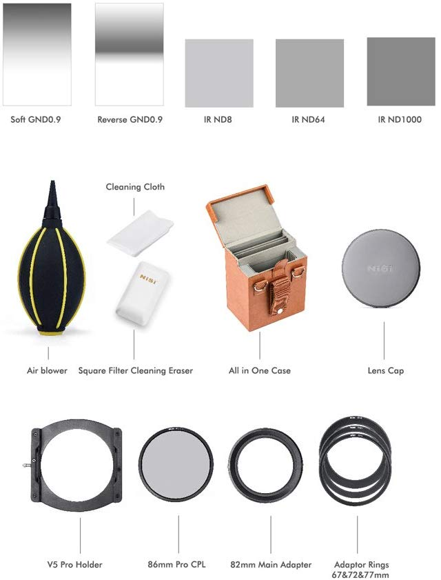Image: Filters, like this kit from NISI, are a great addition to your photography kit, particularly...