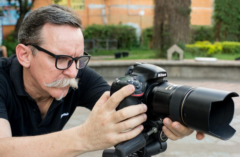 Fotógrafo masculino