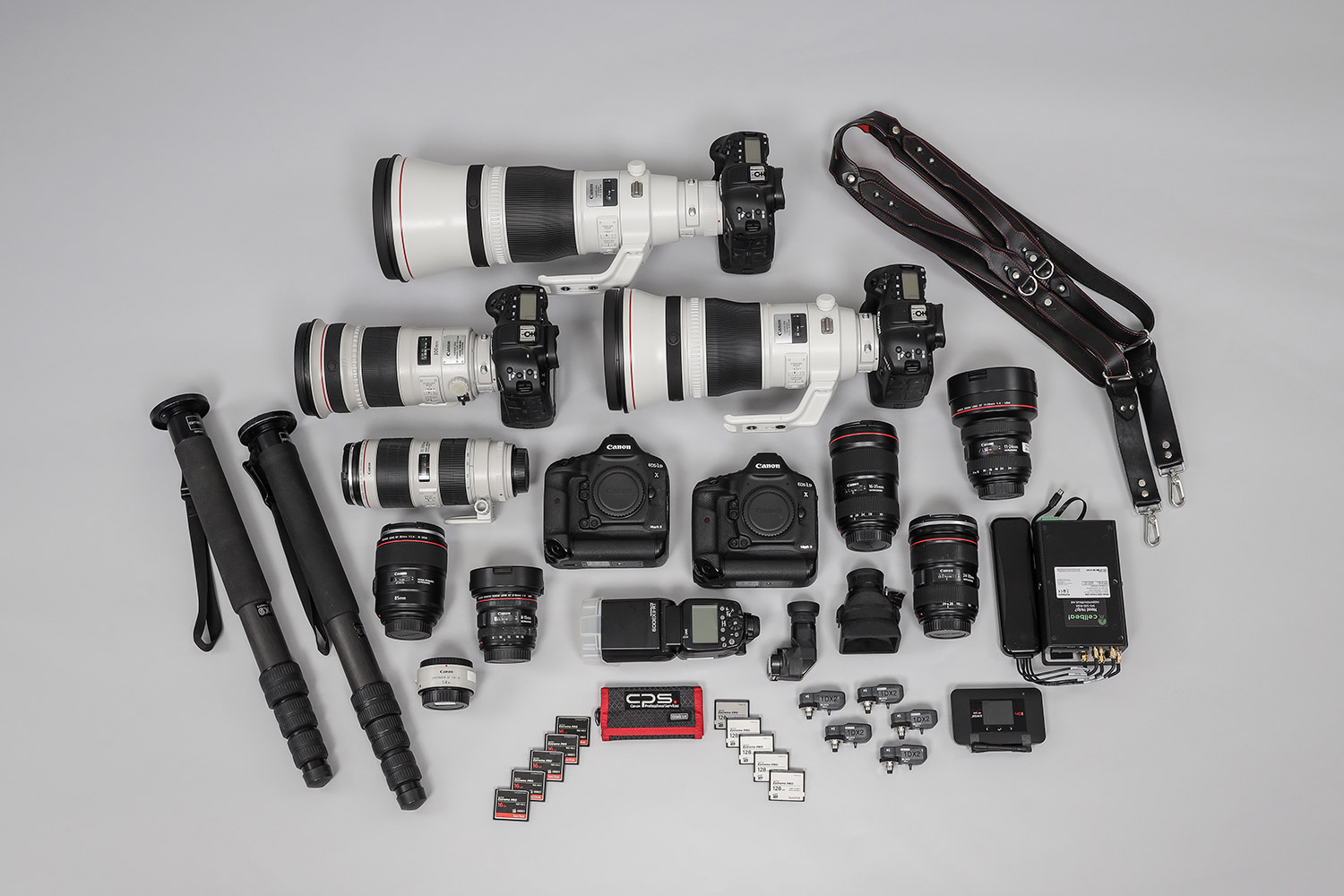Canon Explorers of Light  – Q&A with Photographer Terrell Lloyd - what's in Terrell Lloyd's photography kit