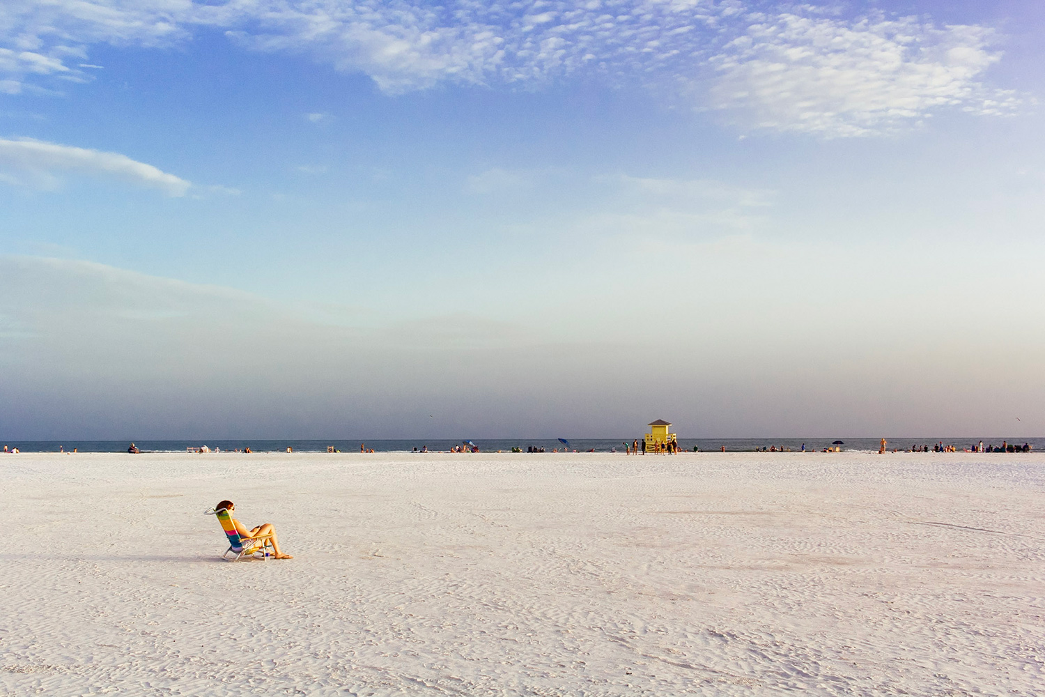aspect ratios in photography - empty beach scene