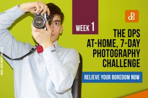 At-home 7-day photography challenge
