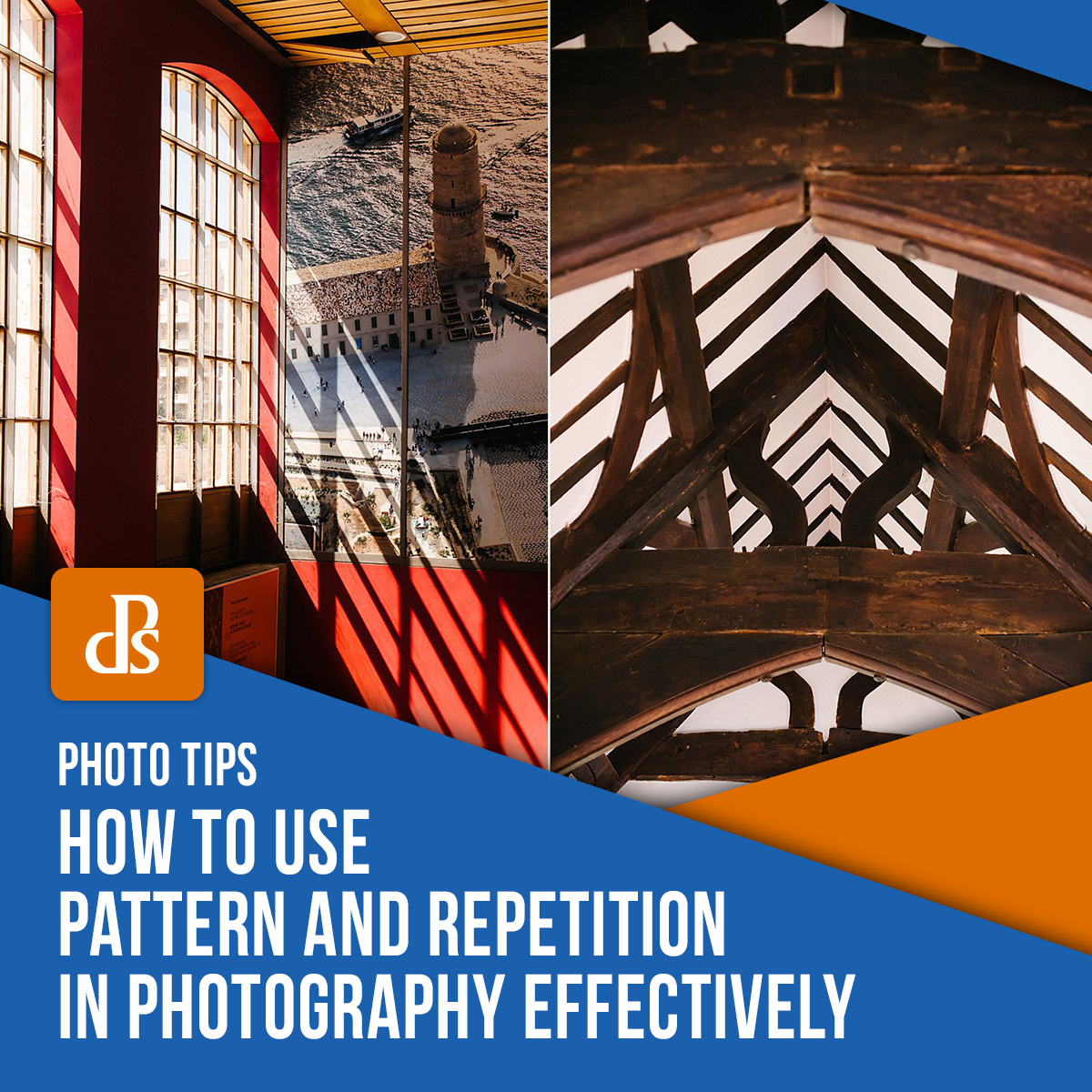 How to use pattern and repetition in photography feature image