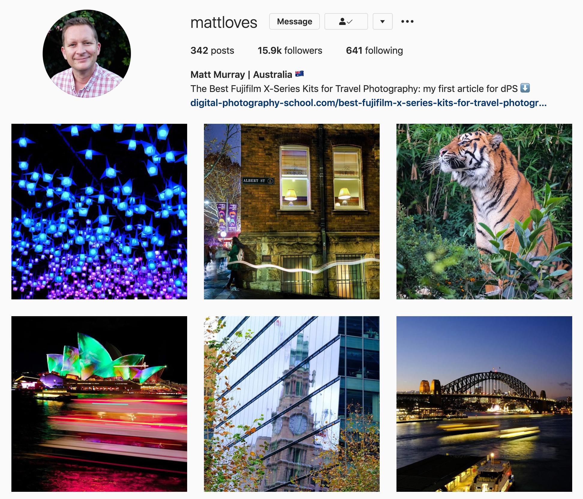 @mattloves Instagram