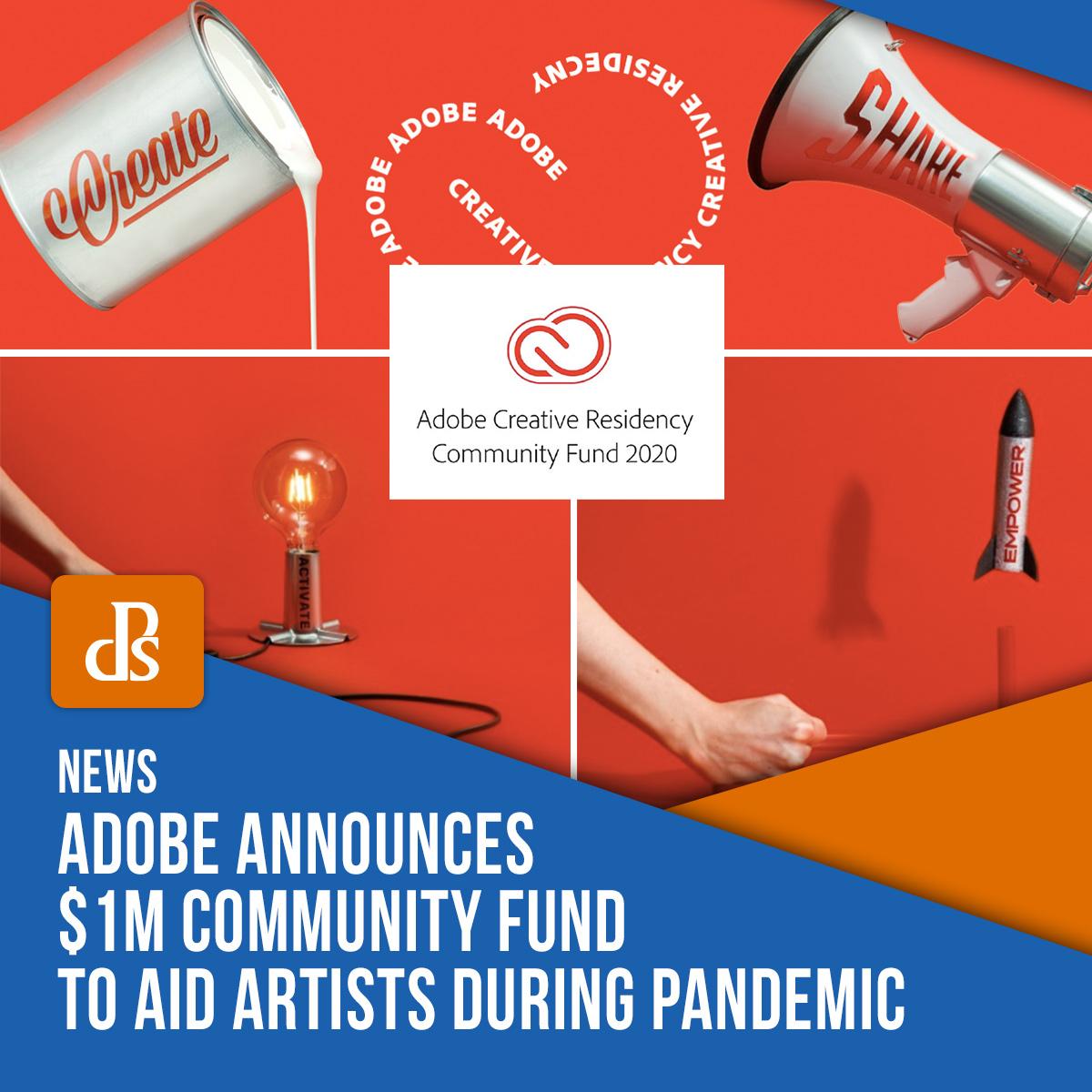 Adobe community fund creative residency