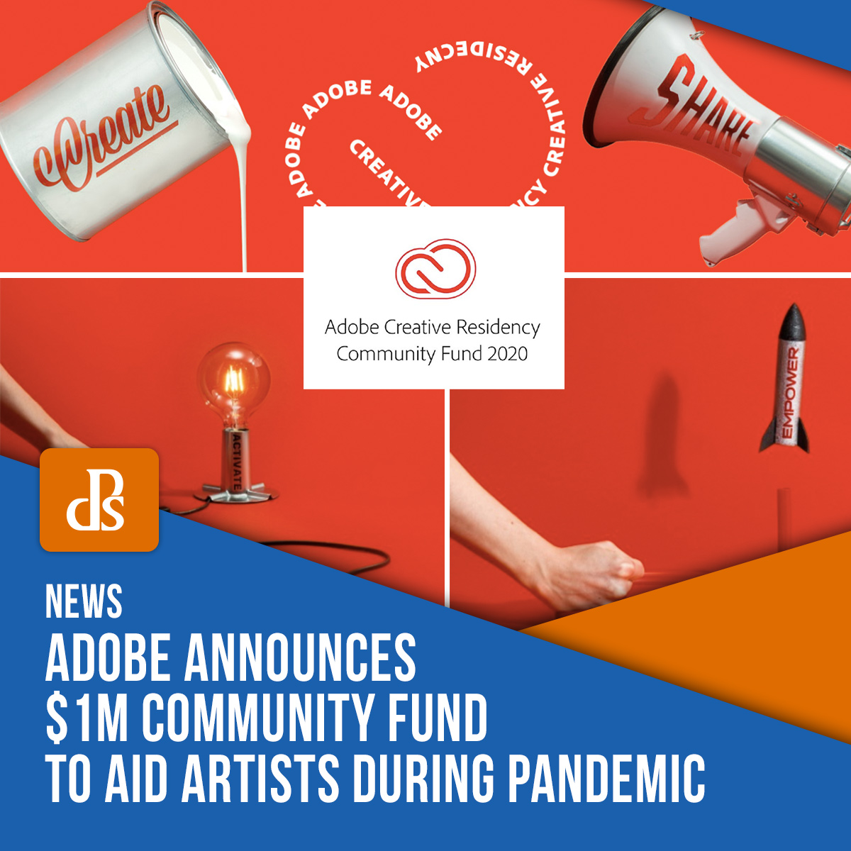 Adobe community fund creative residency