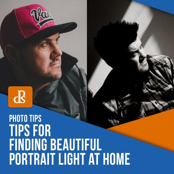 Dicas para encontrar uma bela luz de retrato em casa