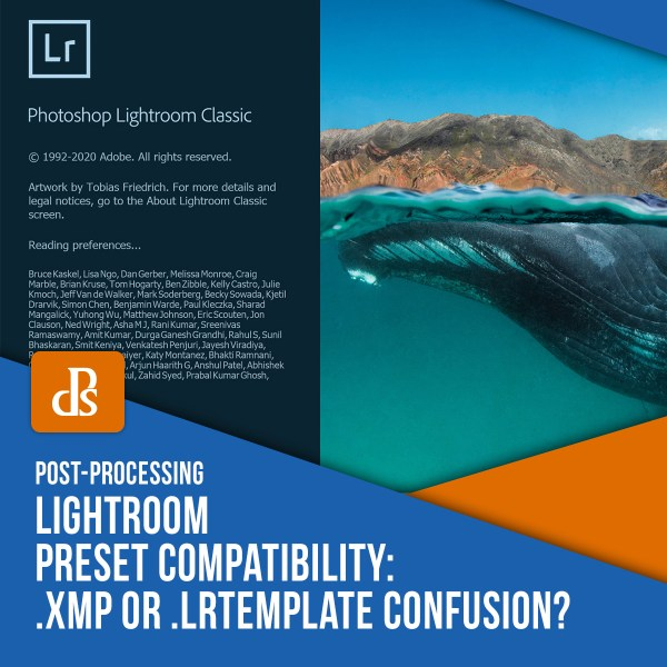Lightroom Preset Compatibility: XMP or LRTemplate Confusion?