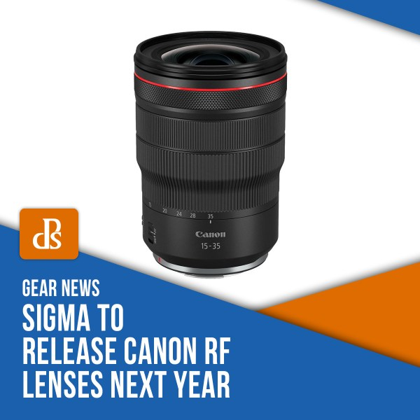 Sigma to Release Canon RF Lenses Next Year
