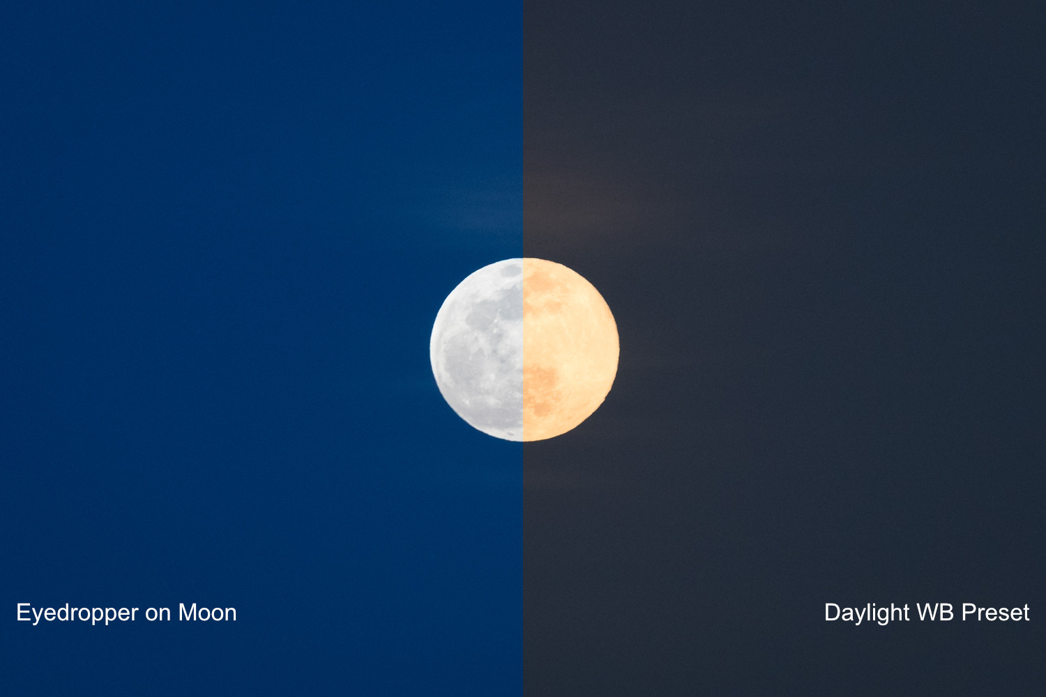 moon editing tips white balance