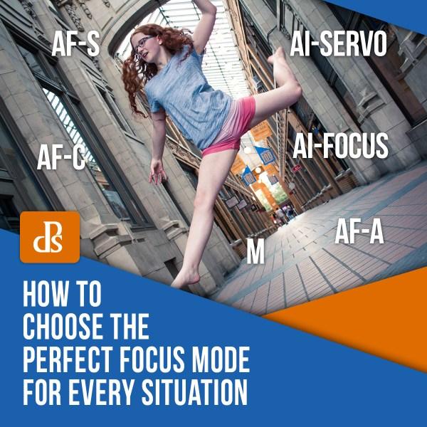 Como escolher o modo de foco perfeito para cada situação