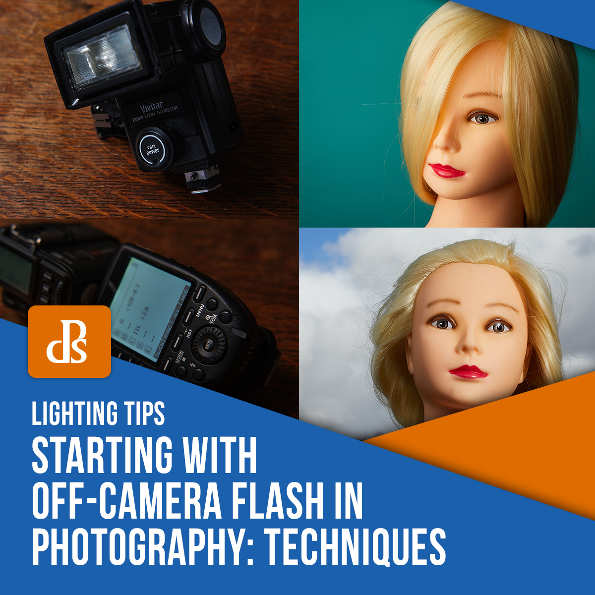 Starting with off-camera flash feature image