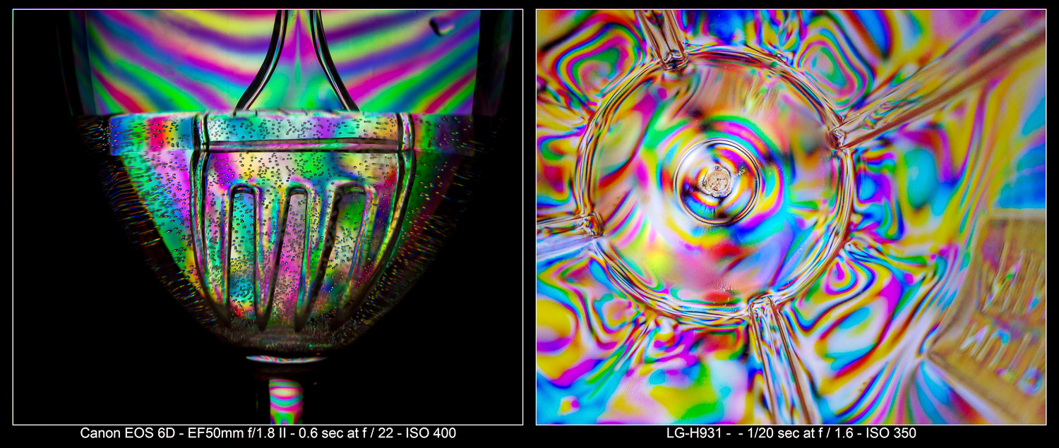 Photo Tricks with Birefringence