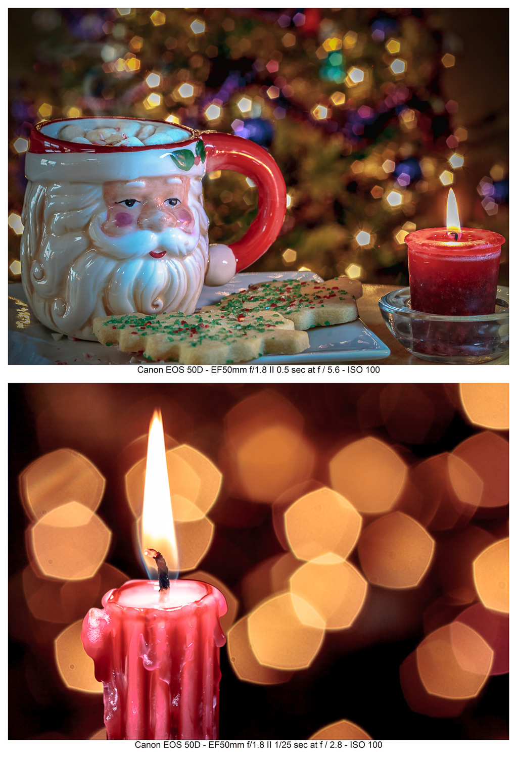 Specular Light Bokeh effects with a wide aperture