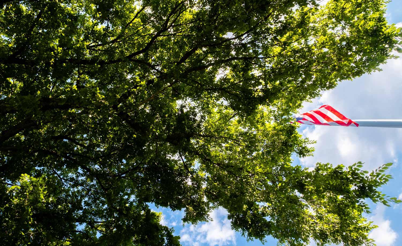 Fujifilm X-T4 review american flag