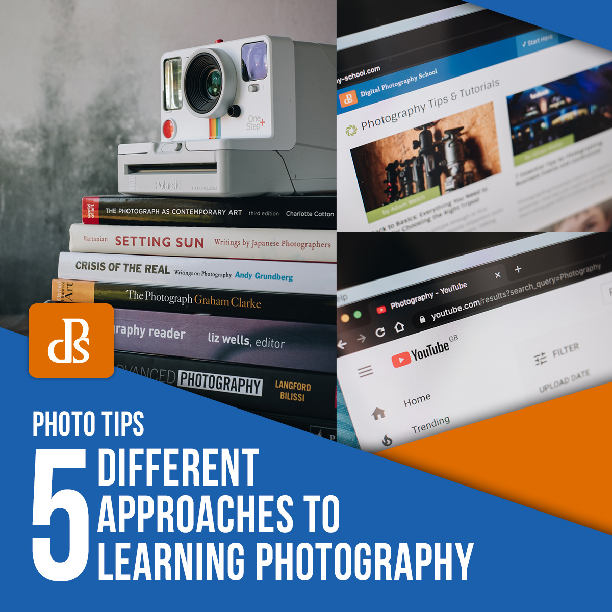 different approaches to learning photography