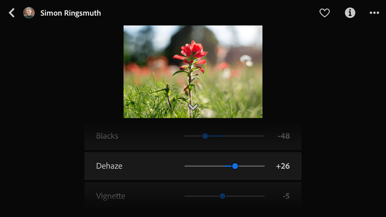 Lightroom Mobile Share Your Edit Discover Feature