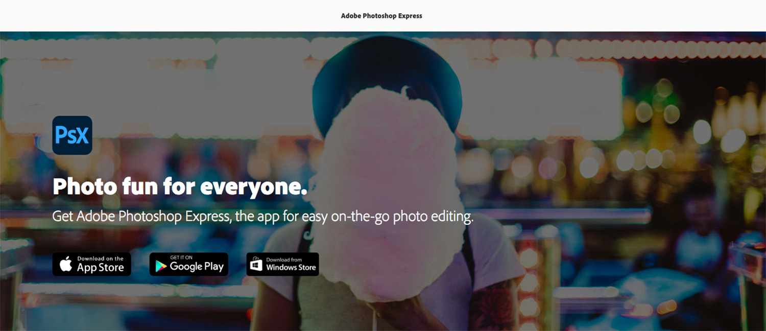 Download Photoshop Express