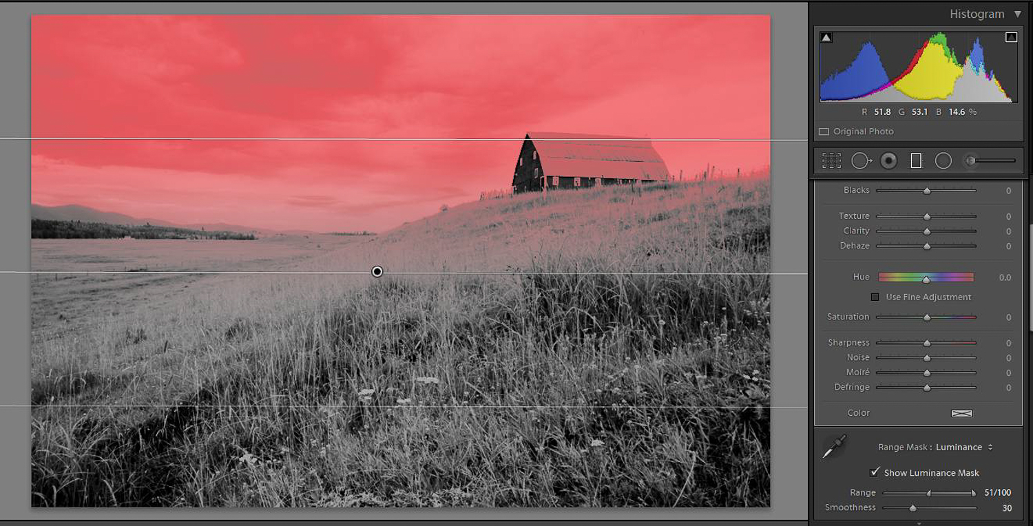 Tips for dramatic skies - Local editing in Lightroom