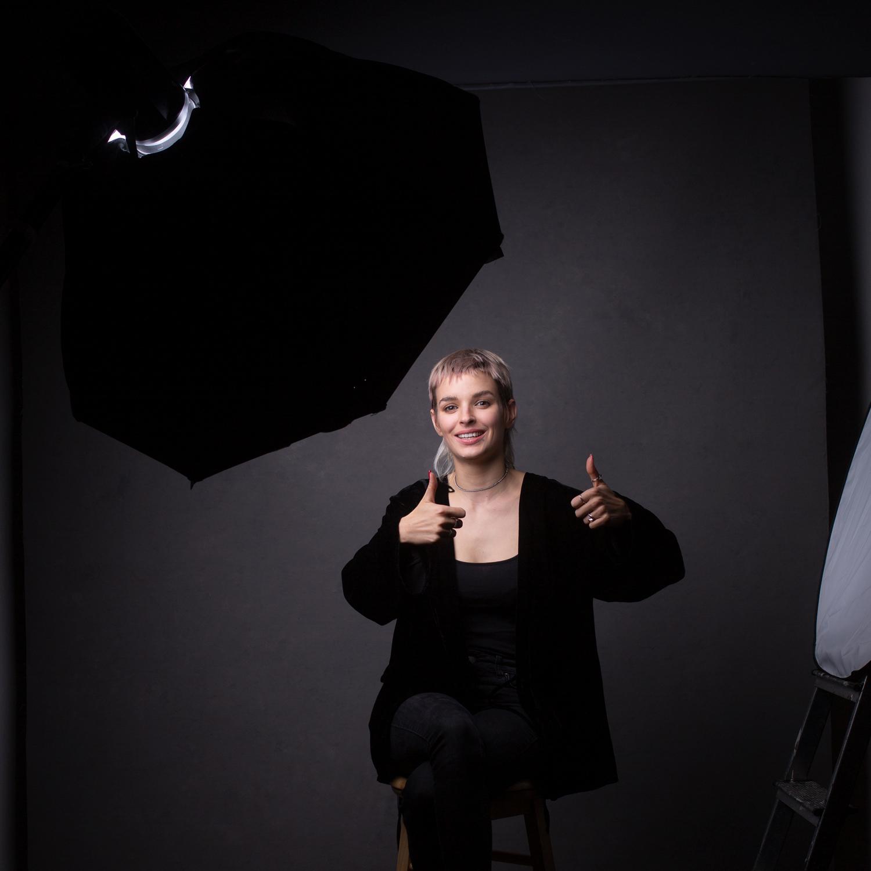 orientações para fotógrafos de retratos positivo