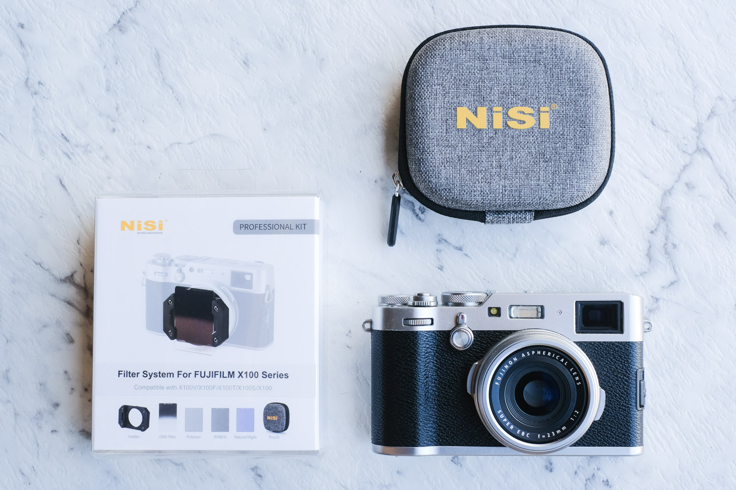 NiSi filter system review (with the system displayed)