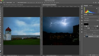 How to Use Photoshop to Add Lightning to Your Stormy Photographs