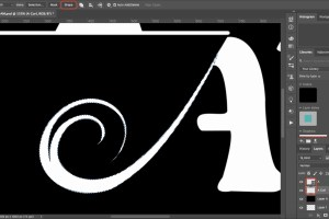 How to Create a Watermark with the Pen Tool in Photoshop
