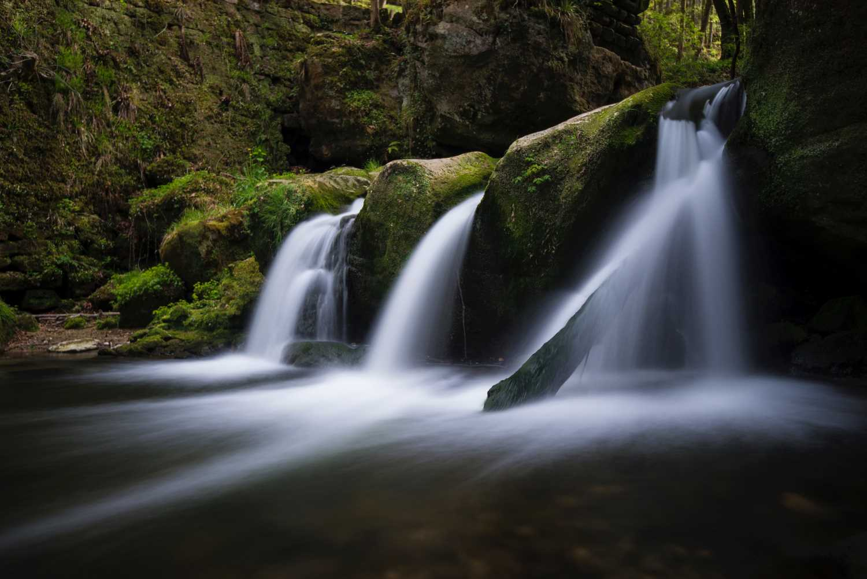 cachoeiras velocidade lenta do obturador